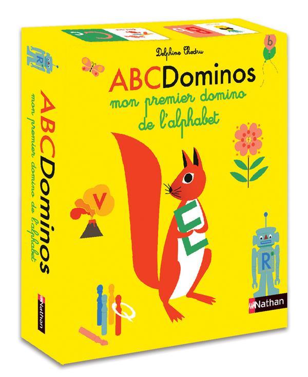 ABC DOMINOS : MON PREMIER DOMINO DE L'ALPHABET CHEDRU, DELPHINE NC