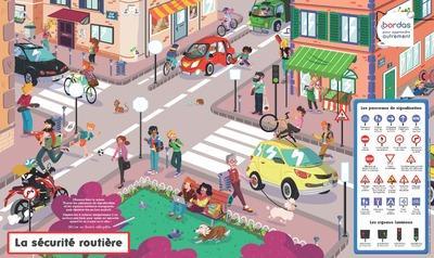 POSTER-ARDOISE  -  LA SECURITE ROUTIERE COLLECTIF NC