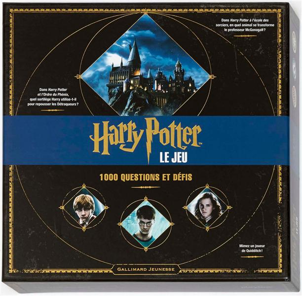HARRY POTTER  -  LE JEU DE PLATEAU