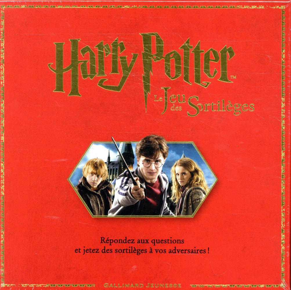 HARRY POTTER  -  LE JEU DES SORTILEGES