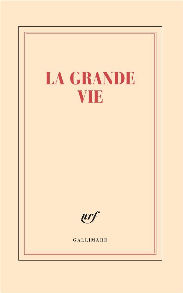LA GRANDE VIE COLLECTIF NC