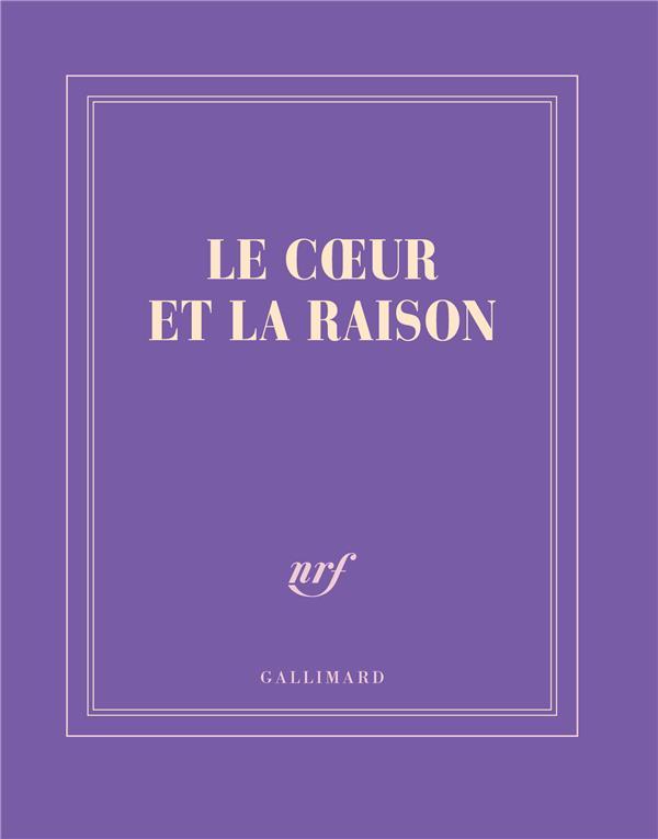 LE COEUR ET LA RAISON 14X18CM