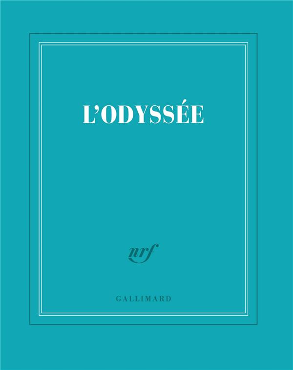 CARNET CARRE TURQUOISE LIGNE COLLECTIF GALLIMARD