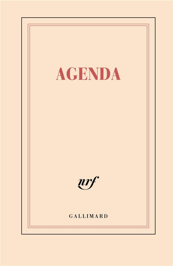 AGENDA (EDITION 2021) GALLIMARD NC