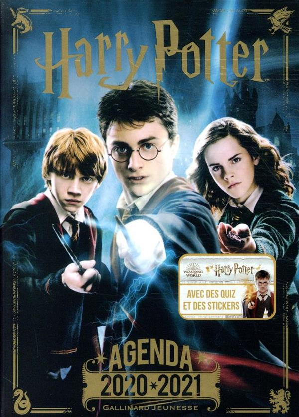 AGENDA HARRY POTTER 2020-2021 COLLECTIF NC