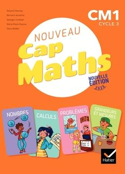 CAP MATHS  -  CM1  -  MANUEL + CAHIER DE GEOMETRIE + DICO MATHS (EDITION 2020)