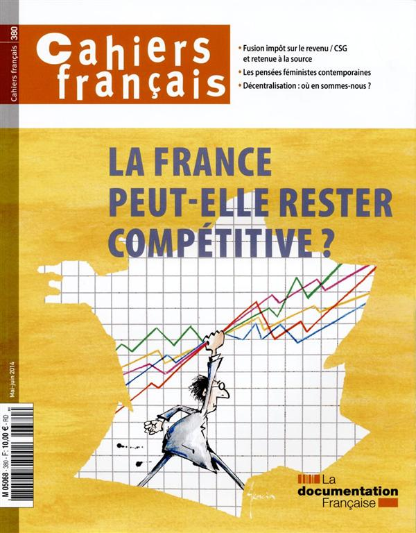 LA FRANCE PEUT ELLE RESTER COMPETITIVE   CF 380