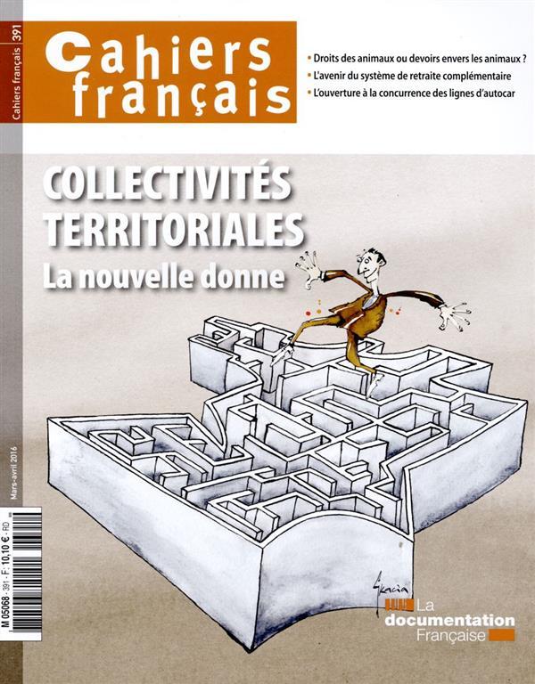 COLLECTIVITES TERRITORIALES  -  LA NOUVELLE DONNE