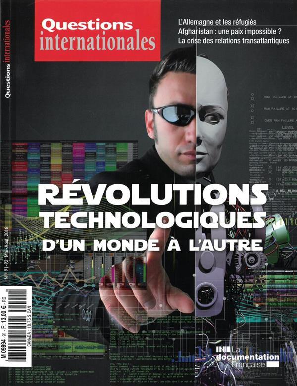 REVOLUTIONS TECHNOLOGIQUES : D'UN MONDE A L'AUTRE