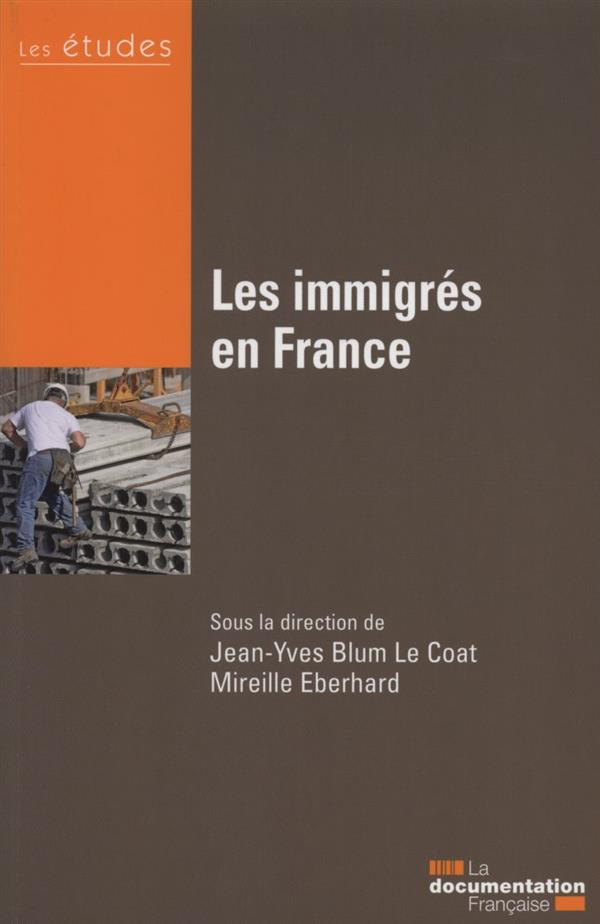 LES IMMIGRES EN FRANCE   ETUDES DF N 5392 93