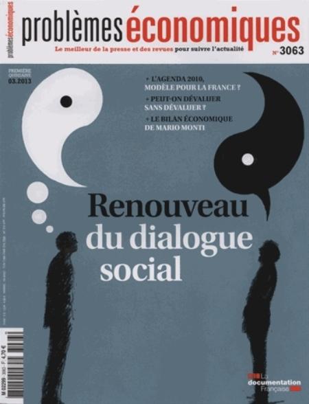 RENOUVEAU DU DIALOGUE SOCIAL N  3063