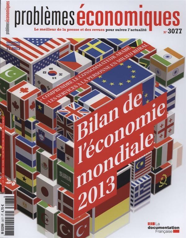 BILAN DE L'ECONOMIE MONDIALE   PE N 3077