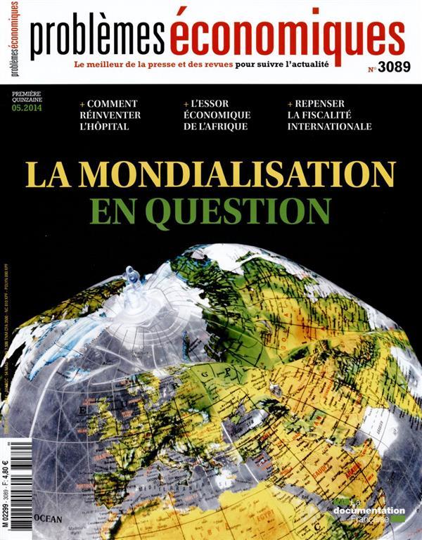 LA MONDIALISATION EN QUESTION   PE 3089