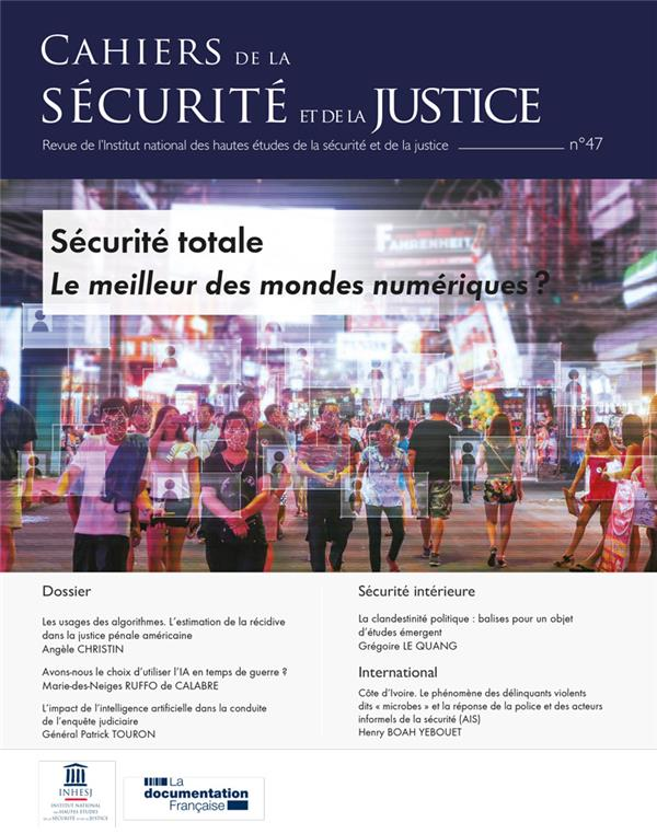 CAHIERS DE LA SECURITE N.47  -  REVOLUTION NUMERIQUE