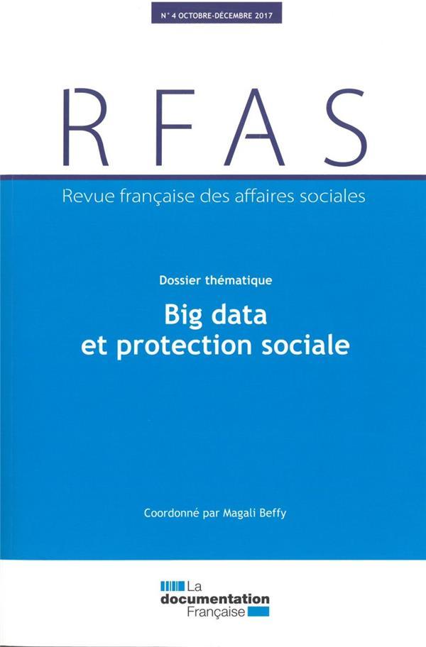 PROTECTION SOCIALE ET BIG DATA - N 4