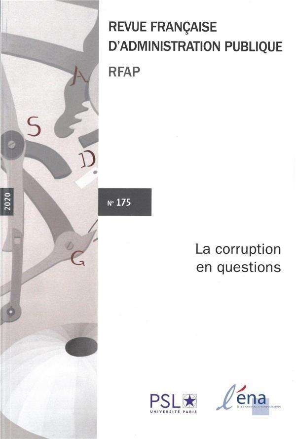 LA CORRUPTION EN QUESTION T.175