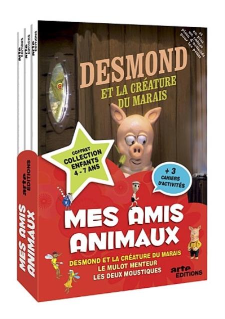 COFFRET MES AMIS ANIMAUX   3 DVD