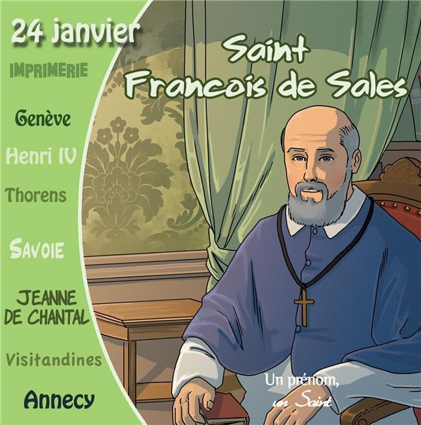 CD SAINT FRANCOIS DE SALES (LIVRE SONORE)