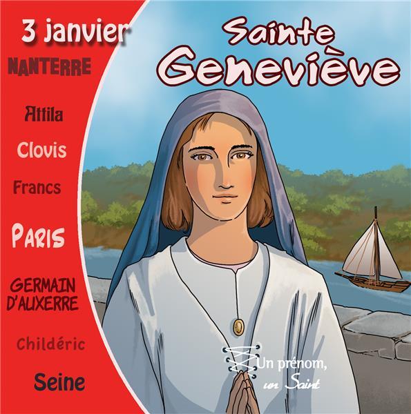 CD SAINTE GENEVIEVE (LIVRE SONORE)