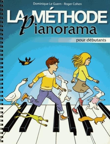 LA METHODE PIANORAMA POUR DEBUTANT LE GUERN DOMINIQUE NC