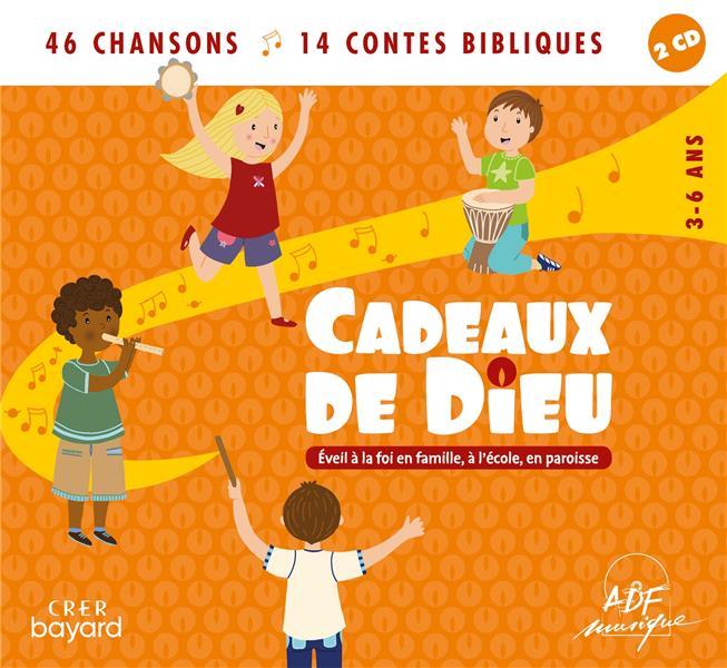 CADEAUX DE DIEU  -  46 CHANSONS  -  14 CONTES BIBLIQUES