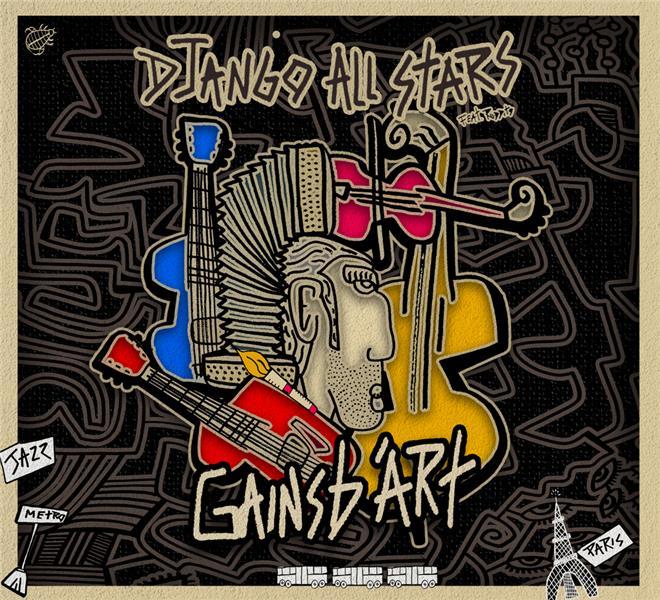 GAINSB'ART DJANGO ALLSTARS   ADF BAYARD MUSIQUE