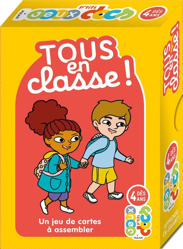 TOUS EN CLASSE !  -  UN JEU DE CARTES A ASSEMBLER