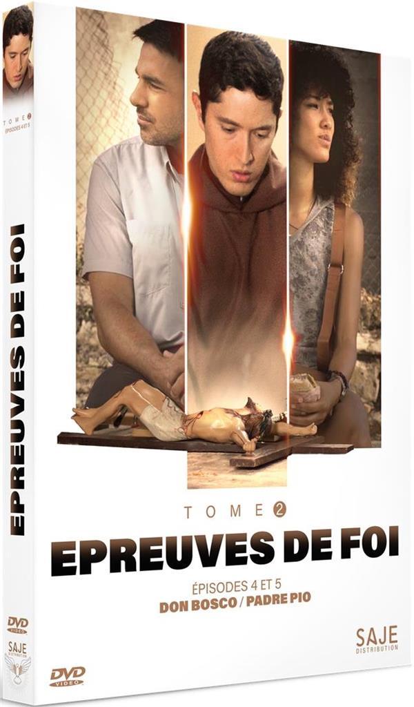 EPREUVES DE FOI T.2  -  EPISODES 4 A 5  -  DON BOSCOPADRE PIO
