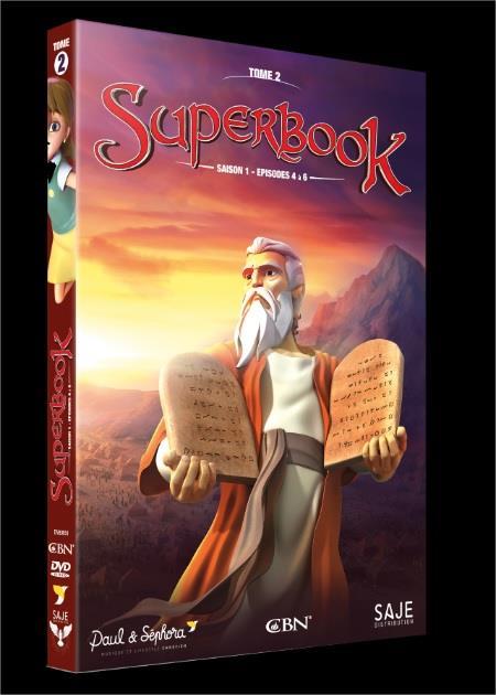 SUPERBOOK T.2  -  SAISON 1, EPISODES 4 A 6