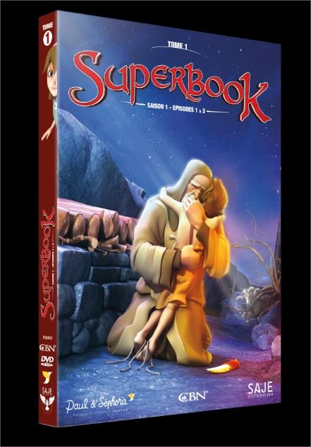 SUPERBOOK T.1  -  SAISON 1, EPISODES 1 A 3