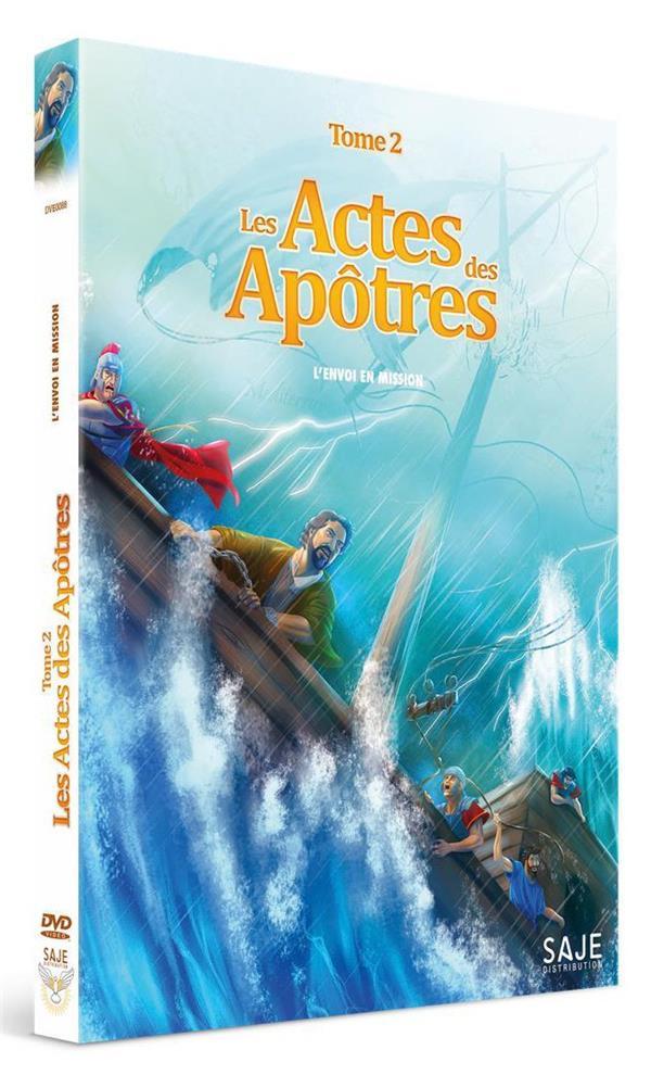 LES ACTES DES APOTRES - TOME 2 : L ENVOI EN MISSION - DVD