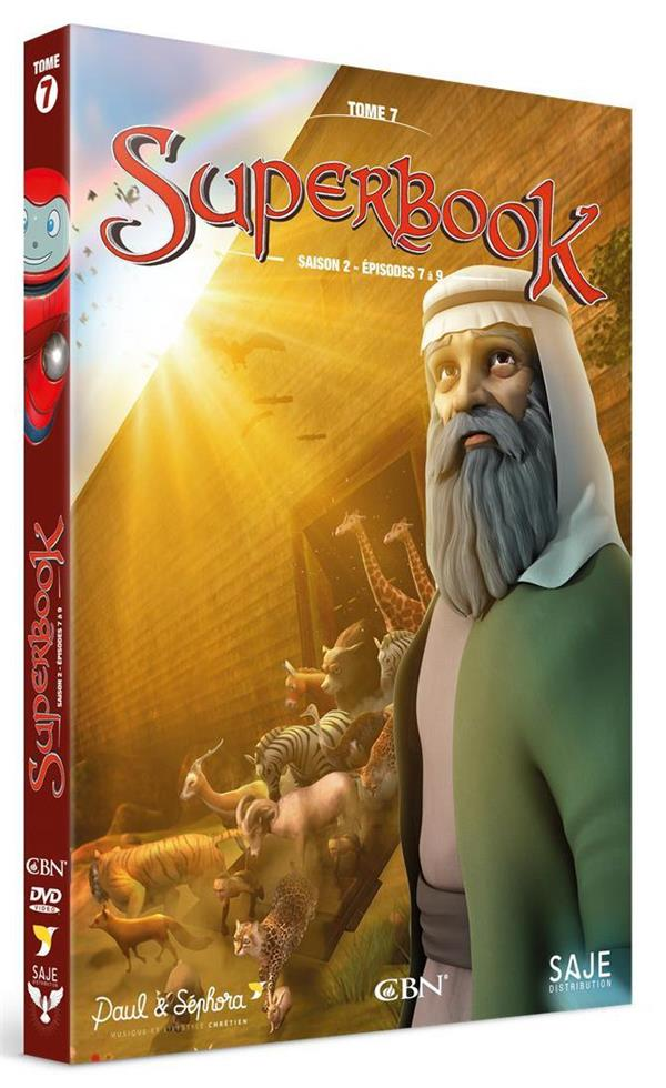 SUPERBOOK T.7  -  SAISON 2, EPISODES 7 A 9