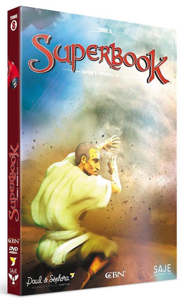 SUPERBOOK T.8  -  SAISON 2, EPISODES 10 A 13