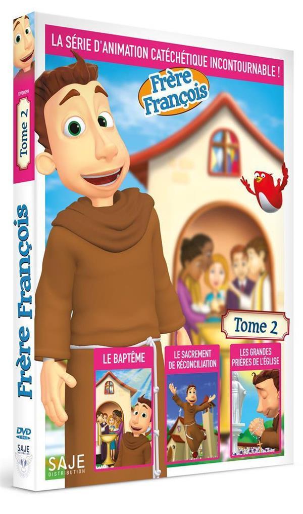 FRERE FRANCOIS T.2  -  LA CONFESSION, LE BAPTEME, LA MESSE