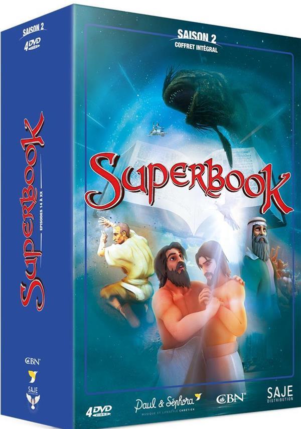 SUPERBOOK COFFRET INTEGRAL SAISON 2 - 4 DVD