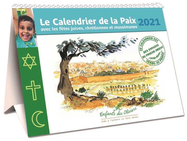 CALENDRIER DE LA PAIX (EDITION 2021)