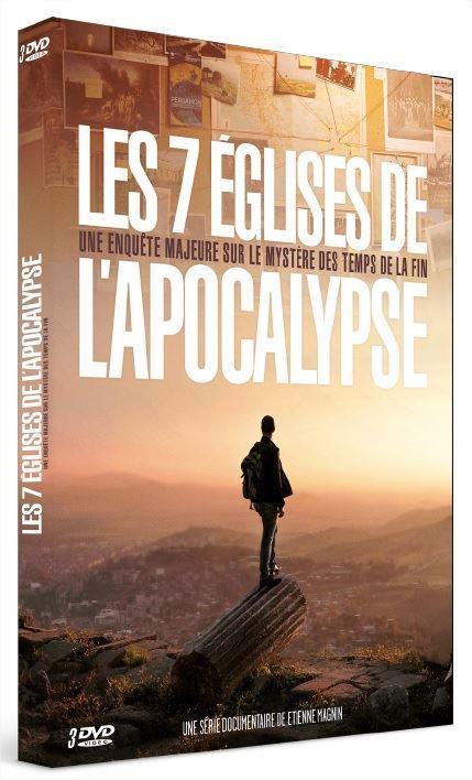 LES 7 EGLISES DE L'APOCALYPSE   COFFRET PRESTIGE 3 DVD