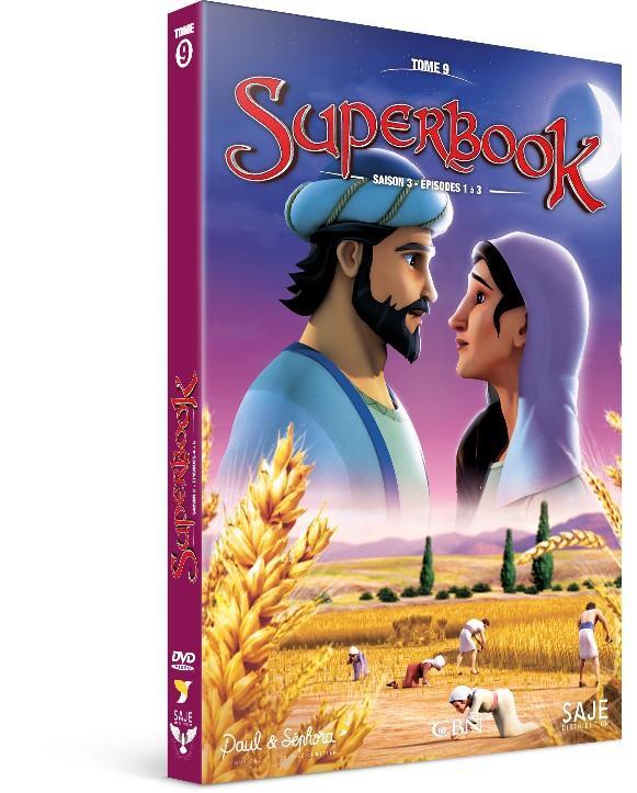 SUPERBOOK TOME 9 - SAISON 3 - EPISODES 1 A 3 - DVD
