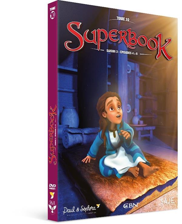 SUPERBOOK T.2 SAISON 3 : EPISODES 4 A 6