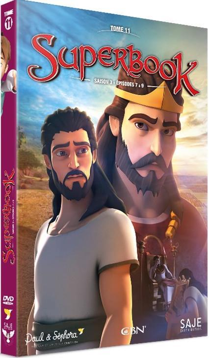 SUPERBOOK TOME 11 - SAISON 3 - DVD
