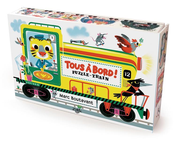 TOUS A BORD ! TRAIN PUZZLE