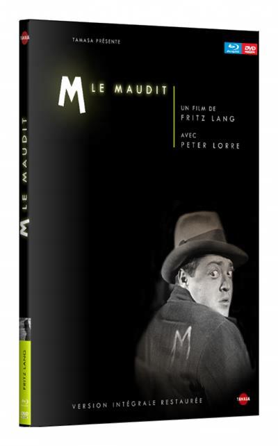 M LE MAUDIT - COMBO DVD + BLU-RAY + LIVRET