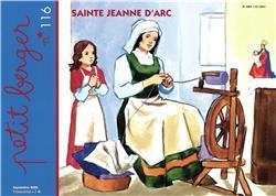 PETIT BERGER N.116     SAINTE JEANNE D'ARC