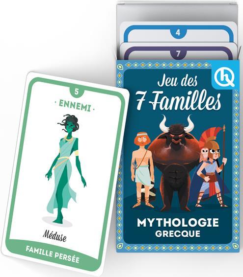 JEU DES 7 FAMILLES  -  MYTHOLOGIE GRECQUE XXX NC