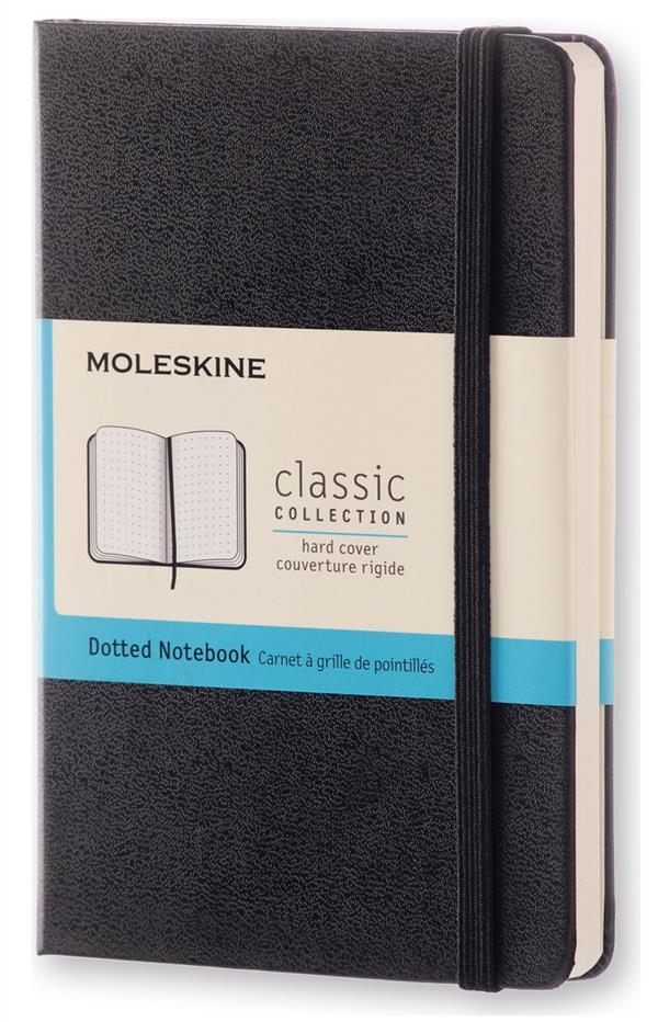 CARNET POINTILLES - FORMAT DE MOLESKINE MOLESKINE