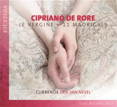 CIPRIANO DE RORE (151516-1565) - CD