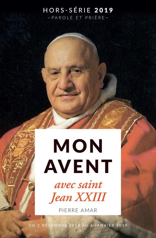 MON AVENT 2019 AVEC SAINT JEAN XXIII