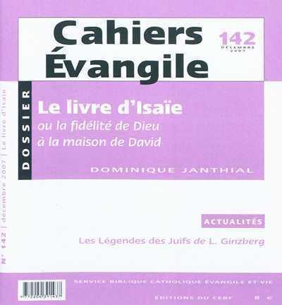CAHIERS EVANGILE NUMERO 142 LE LIVRE D'ISAIE