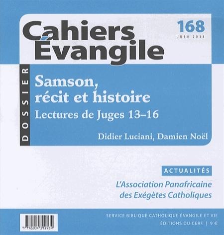 CE-168. SAMSON, RECIT ET HISTOIRE