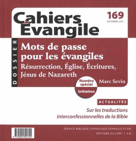CE-169. MOTS DE PASSE POUR LES EVANGILES